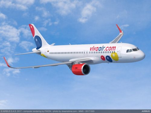 Viva Air purchased 50 A320 Family aircraft from Air Bus