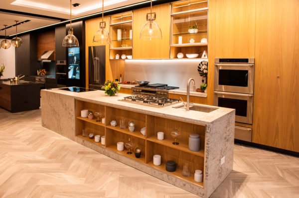Inside the Dacor Kitchen Theater - the new kitchen appliance showroom in Chicago.