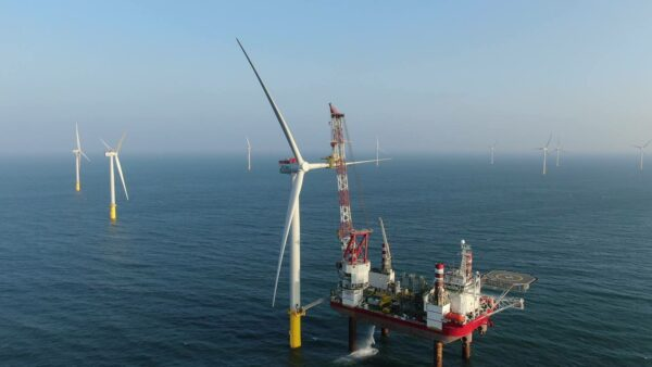 Final turbine installed at the Formosa 1 offshore wind farm phase 2