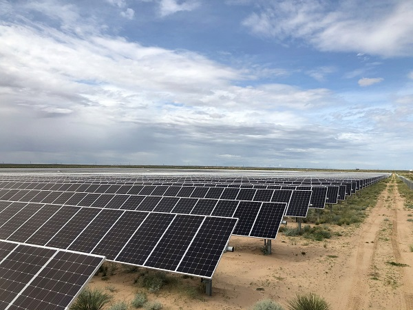 The 100MW West of the Pecos solar project in Reeves County, Texas