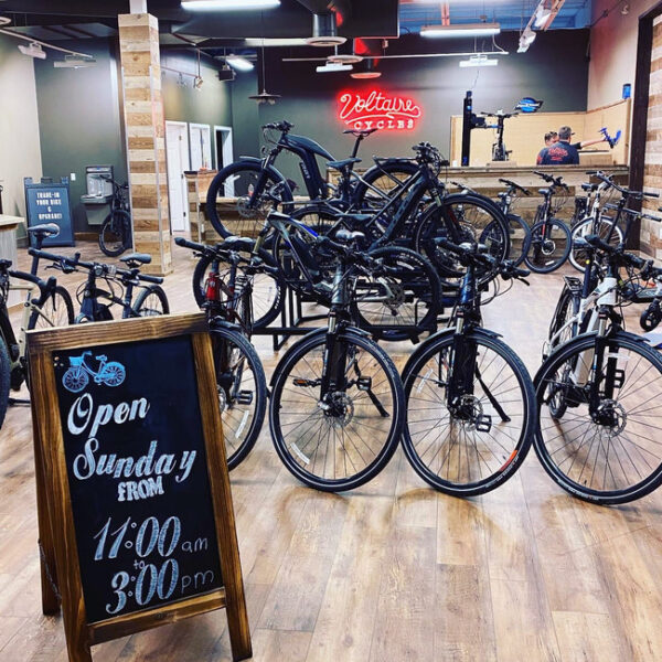 Voltaire Cycles Highlands Ranch store opened in Denver for sale of e-bikes