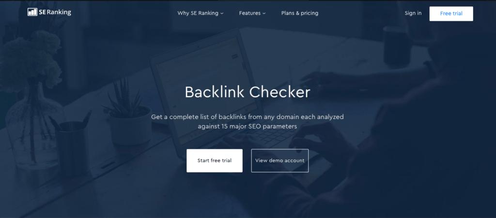 SE RankingBacklinks Checker