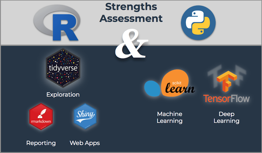 Python and R Strengths