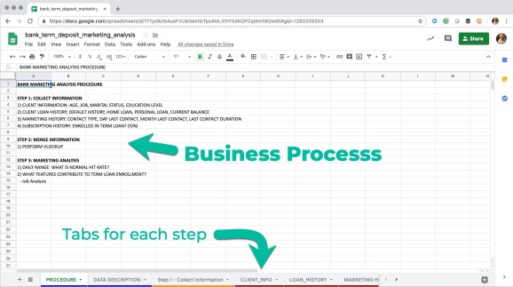 Excel File Contents