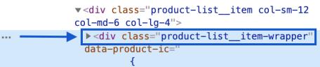 Product List Node