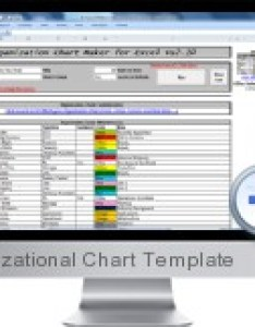 also excel organizational chart template rh business spreadsheets