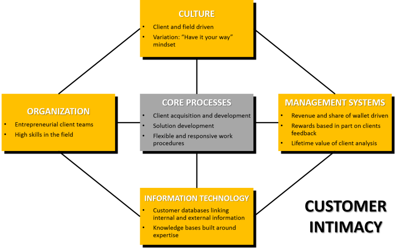 Customer Intimacy Operating Model