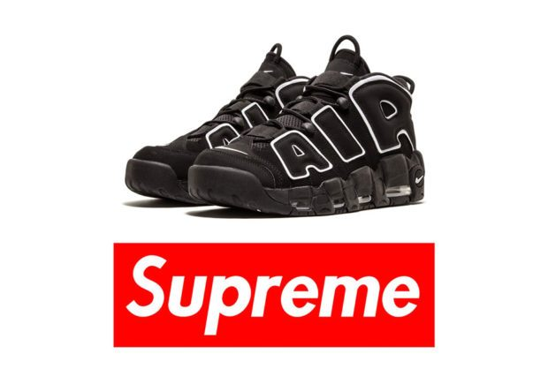 The Supreme x Nike Air More UPTEMPO - sneakers