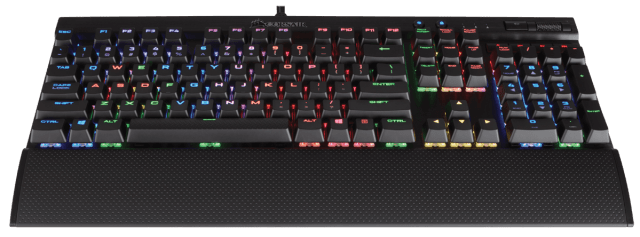 The Corsair K70 Gaming Keyboard - Backlit Keyboards