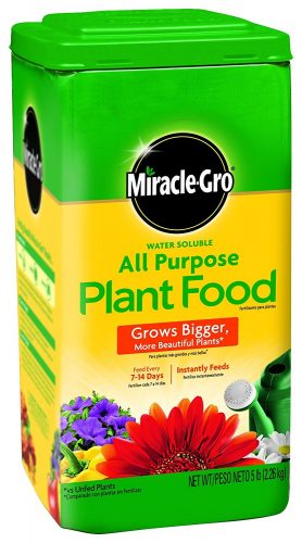 Miracle-Gro 1001233 All Purpose Plant Food – 5 Pound