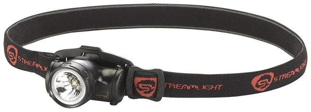 Streamlight 61400 Enduro Impact Resistant Headlamp with Elastic Strap, Black
