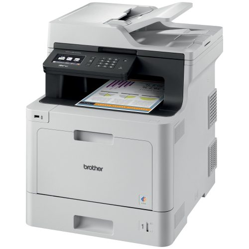 The Brother Printer MFCL8610CDW Business Color Laser All-in-One with Duplex Printing and Wireless Networking, Amazon Dash Replenishment Enabled - best color laser printers