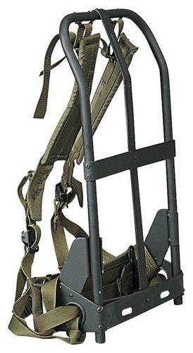 A.L.I.C.E. BackPack Frame, shoulder straps, lower back pad & waistbelt - External frame pack