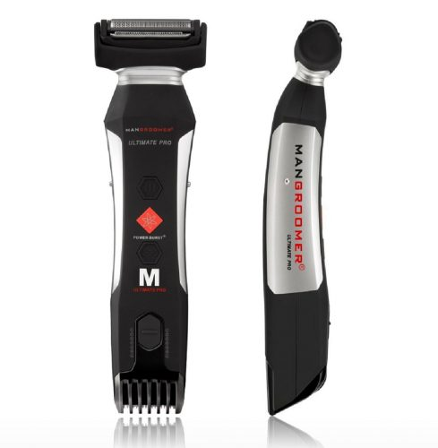 MANGROOMER Ultimate Pro Body Groomer and Trimmer with Power Burst - Men Body Hair Trimmer