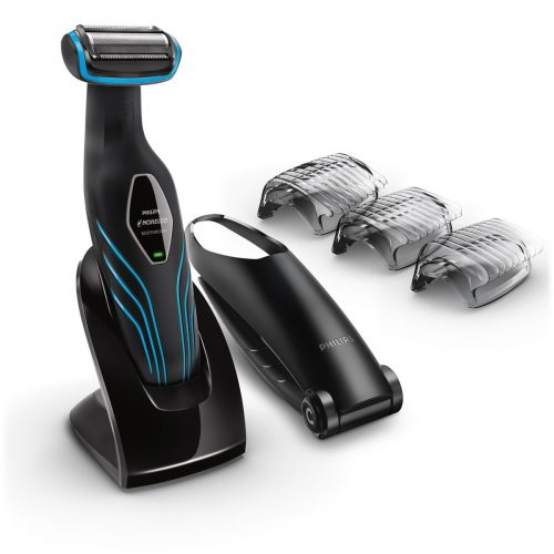 Philips Norelco Bodygroom Series 3100, Shave and trim with back attachment, BG2034 - Men Body Hair Trimmer
