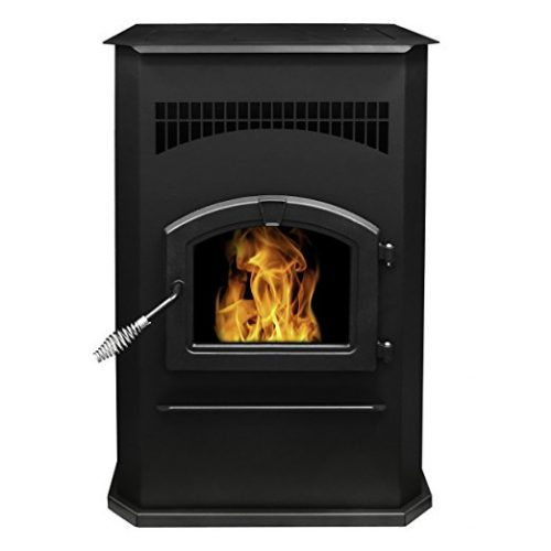 Pleasant Hearth Cabinet Style 50000 BTUs Pellet Stove - Pellet Stoves