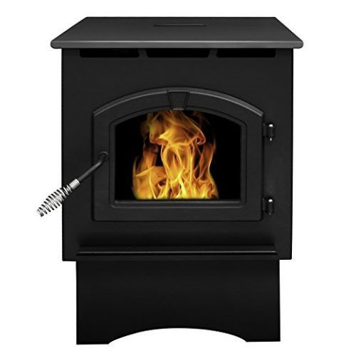 Pleasant Hearth Medium 35000 BTU's Pellet Stove with 40-Pound Hopper - Pellet Stoves