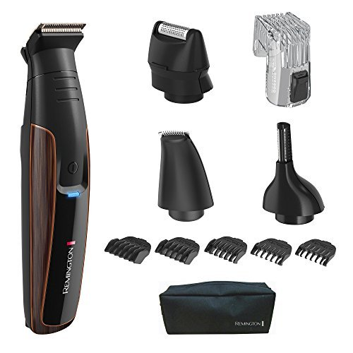 Remington PG6170 The Crafter Beard Boss Style and Detail Kit with Titanium-Coated Blades - Men Body Hair Trimmer