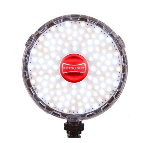 Rotolight NEO On-Camera LED Light (50-100 words) - On-Camera LED Lights