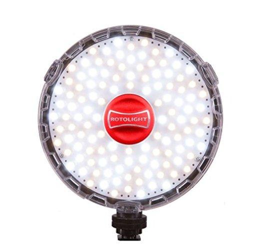 Rotolight NEO On-Camera LED Light (50-100 words) - On-Camera LED Lights