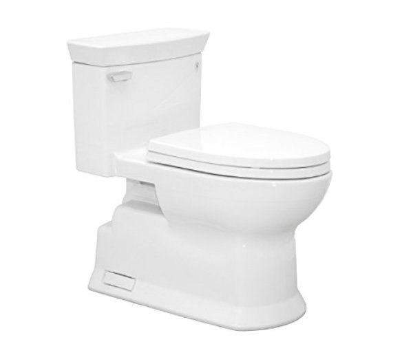 TOTO MS964214CEFG#01 Eco Soiree Elongated One Piece Toilet - one piece toilets