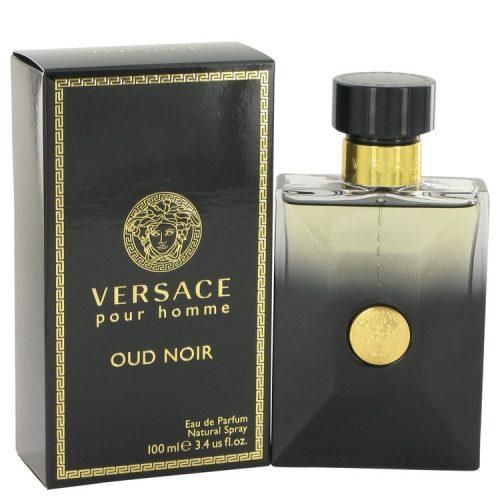 Versace Oud Noir Eau De Parfum Spray For Men 100Ml/3.4Oz - long lasting colognes