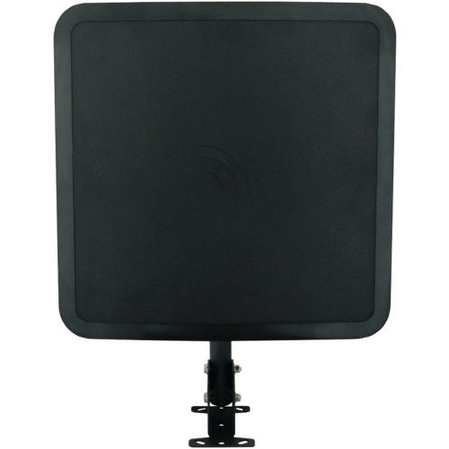 Winegard FlatWave Air Amplified Digital Outdoor HDTV Antenna (4K Ready, High-VHF, UHF, Black) - long range outdoor HDTV antenna