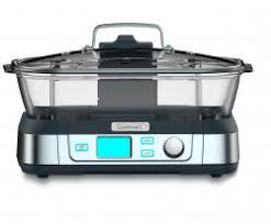 Cuisinart STM-1000 Cookfresh Digital Glass Steamer, White - Electric Food Steamers