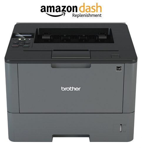 Brother MFCL2740DW Wireless Monochrome Printer with Scanner, Copier and Fax, Amazon Dash Replenishment Enabled - Color Laser Printers