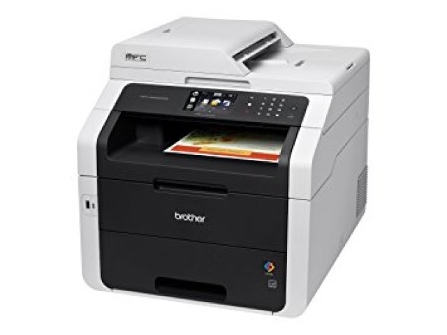 Brother Wireless All-In-One Color Printer with Scanner, Copier and Fax (MFC9330CDW), Amazon Dash Replenishment Enabled - Color Laser Printers