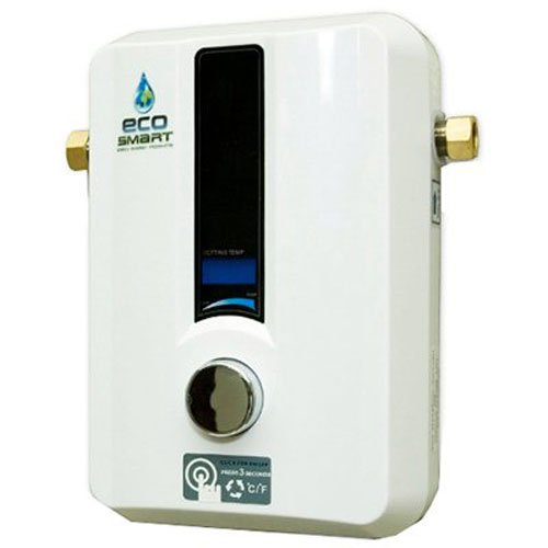 EcoSmart ECO 11 Electric Tankless Water Heater, 13KW at 240 Volts with Patented Self Modulating Technology - Tankless Water Heaters