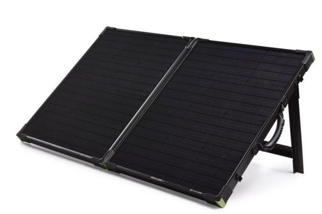 Goal Zero Boulder 100 Briefcase, 100 Watt Monocrystalline Solar Panel - Monocrystalline Solar Panels