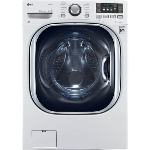 LG WM3997HWA Ventless 4.3 Cu. Ft. Capacity Steam Washer/Dryer Combination with TurboWash, TrueBalance Anti-Vibration System, NeveRust Stainless Steel Drum, Allergiene Cycle in White - Front Load Washers