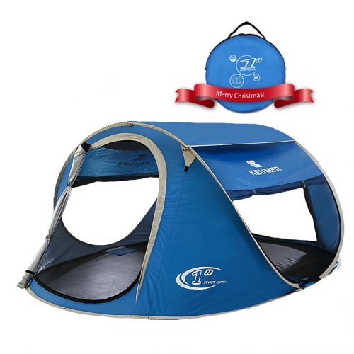 POP-UP TENT-AUTOMATIC AND INSTANT SETUP (3-4 PEOPLE MAX) FROM ZOMAKE - Tents