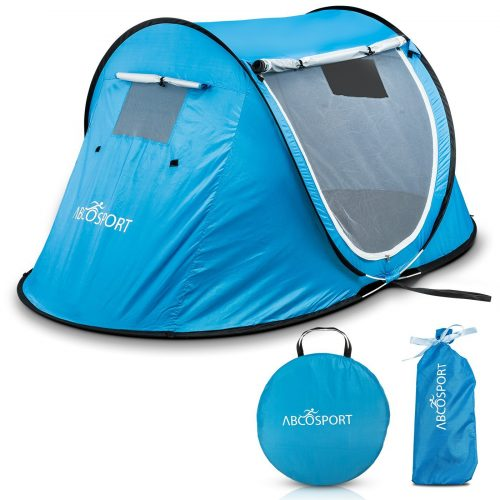 POP-UP TENT, CABANA BEACH TENT, AUTOMATIC INSTANT PORTABLE, UP TO 2 PEOPLE - Tents