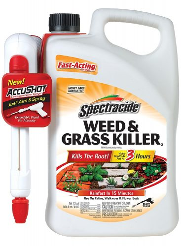 WEED AND GRASS KILLER2 FROM SPECTRACIDE (ACCUSHOT SPRAYER) - Weed killer