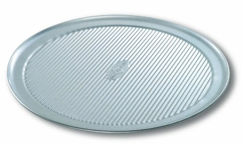 USA Pan Bakeware Aluminized Steel Pizza Pan, 14 Inch