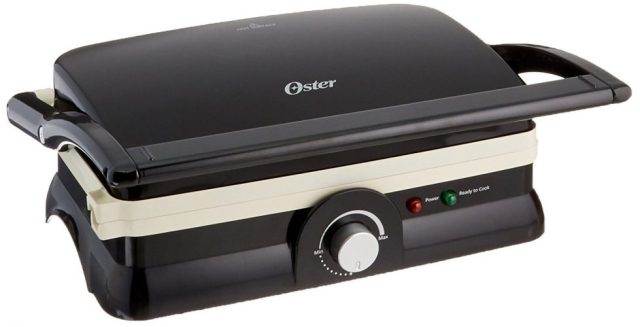 Oster DuraCeramic Panini Maker and Grill bicycle
