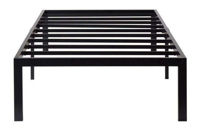 Olee Sleep 14 Inch T-3000 Heavy Duty Steel Slat /Non-slip Support Bed Frame 14BF04T (TWIN)