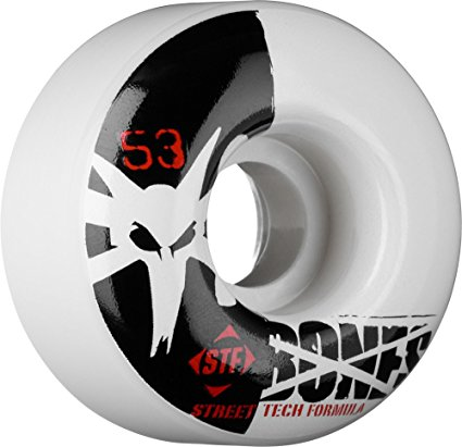 Bones STF Street Tech Formula Skateboard V4 Wheels (Standard, Set to 4)