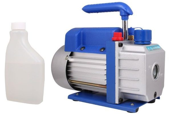 TMS 3 CFM Single-stage Rotary Vane Vacuum Pump R410a R134 Hvac A/c Air Refrigerant