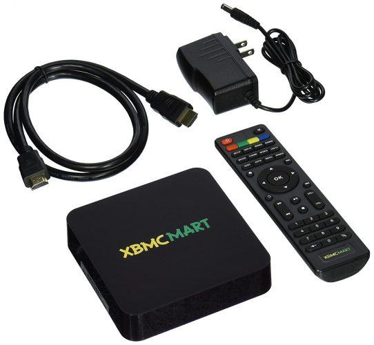 XBMCMart Android TV Box Mini PC Media Player[Quad/Octa Core | 64-Bit | 4K]