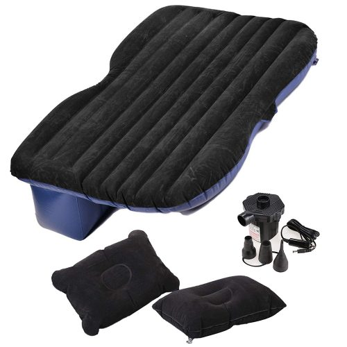 Amdirect Travel Car Back Seat Sleep Rest Inflatable Mattress Air Bed Car Bed-Car Air Beds