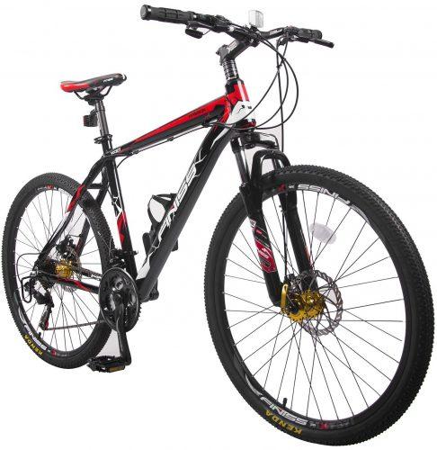 Merax Finiss 26''; Aluminum 21 Speed Mountain Bike with DiscBrakes-mountain bikes