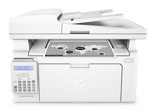 HP LaserJet Pro M130fn All-in- One Laser Printer with print security