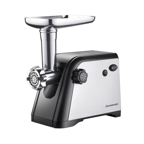 Homeleader 800W Electric Meat Grinder, Sausage Stuffer with 3 Stainless Steel Cutting Plates, ETL Approved