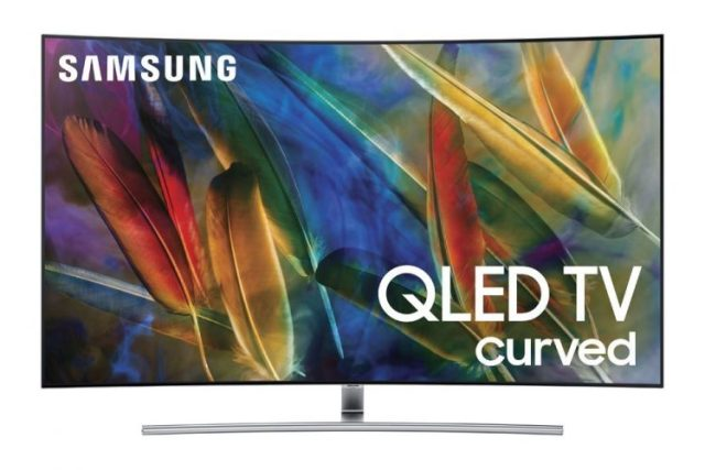 Samsung Electronics QN55Q7C Curved 55-Inch 4K Ultra HD Smart QLED TV (2017 Model)