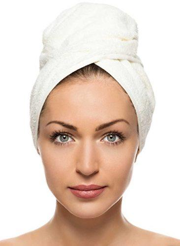 Comfy Towels Hair Towel Turban Wrap, Quick Dry Microfiber Hair Drying Towel Twist - hair drying towels
