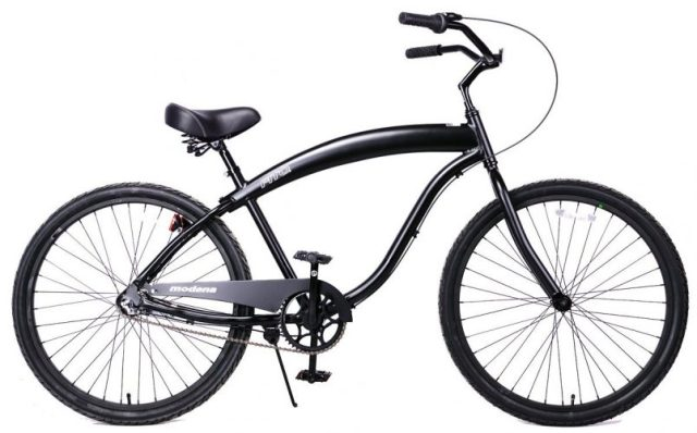Fito Men's Modena 2.0 Aluminum Alloy 3 Speed Beach Cruiser Bike