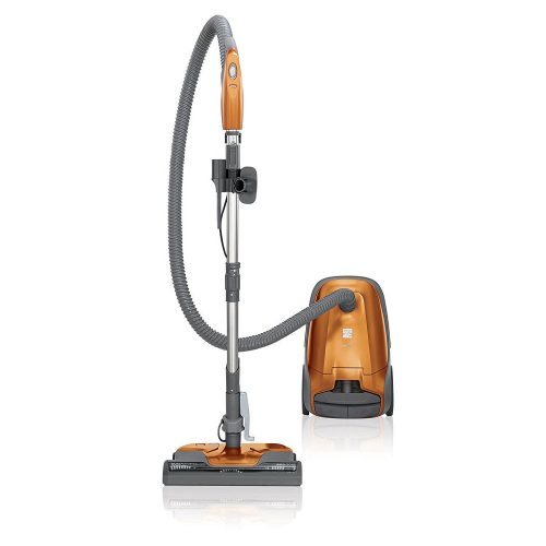Kenmore 81214 200 Series Bagged Canister Vacuum Cleaner in Orange